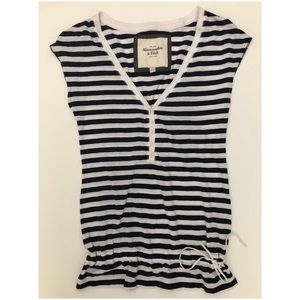 Abercrombie striped top